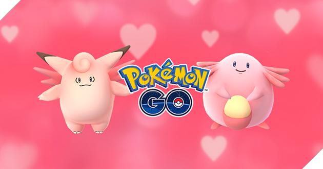 Valentinenăm ngoái mang đến sự xuất hiện của cácPokemonmàu hồng