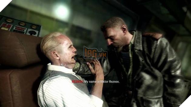 Một hình ảnh gây bất ngờ trong Call of Duty: Black Ops khi Reznov xuất hiện
