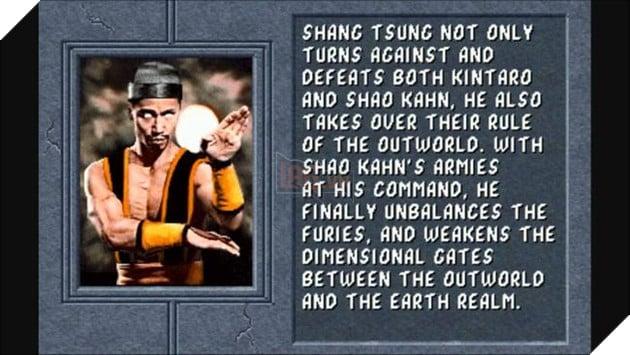 Shang Tsunglà trùm cuối trong tựa gameMortal Kombatđầu tiên