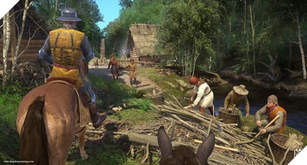 Kingdom Come: Deliverancecó rất nhiều thứ để người chơi tìm hiểu