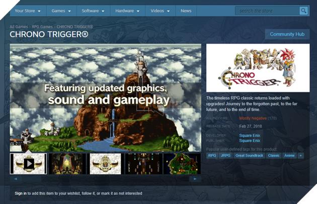 Tựa game nhập vai hay nhất mọi thời đại cuối cùng cũng xuất hiện trên Steam