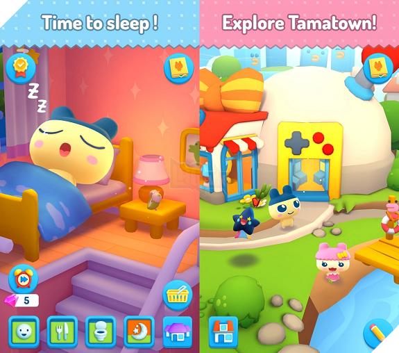 """My Tamagotchi Forever - """"Gà ảo"""" phiên bản di động chuẩn bị ra mắt game thủ"""