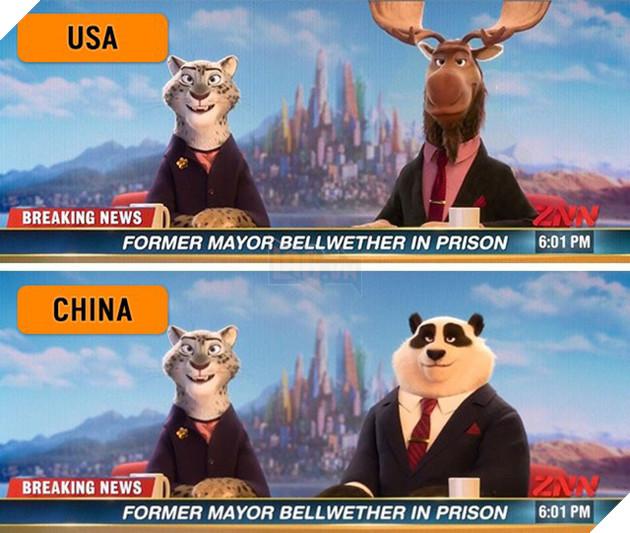 7 chi tiết trong các bộ phim hoạt hình nổi tiếng đã được thay đổi khi chiếu ở quốc gia khác