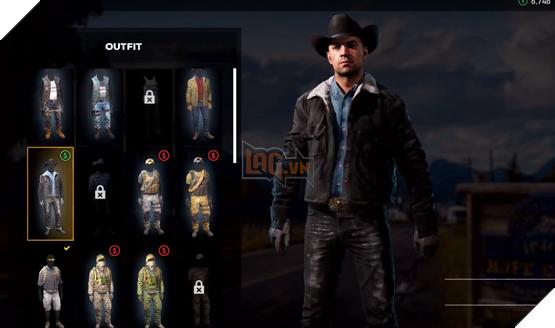 Tùy chỉnh gương mặt, trang phục, cùng nhiều thứ khác trong Far Cry 5