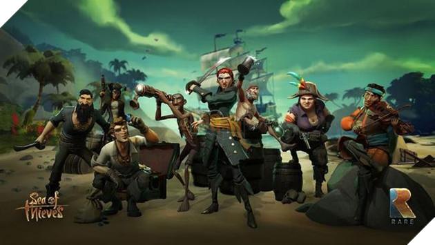 """Thay vì phải loay hoay tạo hình, các hải tặc sẽ được """"tạo ra"""" liên tục cho người chơiSea of Thieves"""