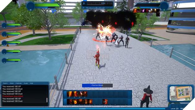 Cận cảnh Ship of Heroes - Game online siêu anh hùng mới toanh đầy hấp dẫn