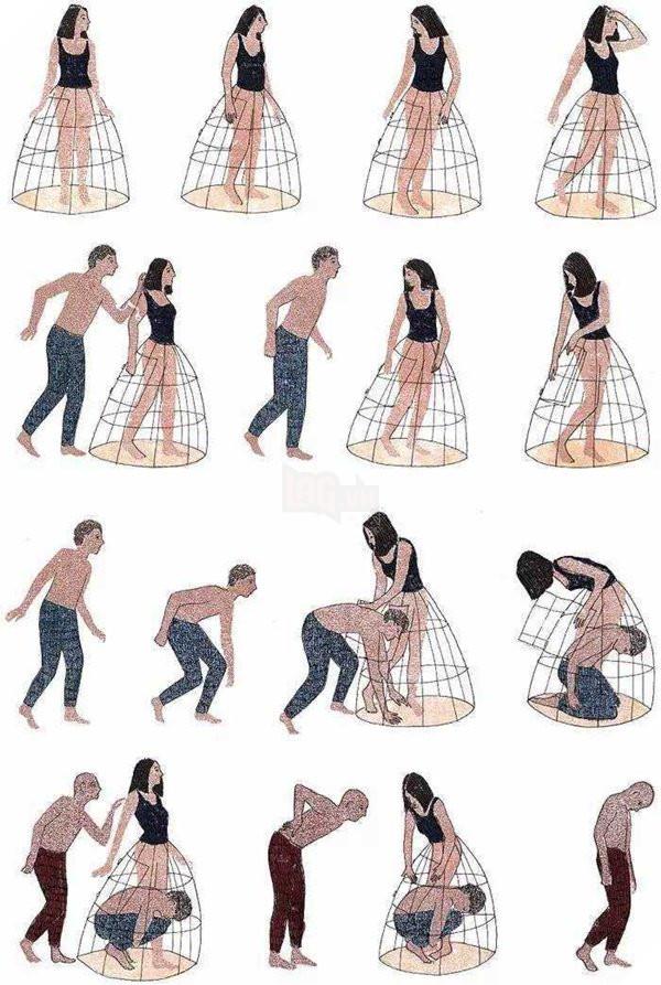 Bộ ảnh lột trần mối quan hệ giữa đàn ông và phụ nữ, thô nhưng thật đến rợn người