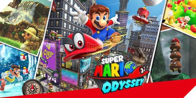 Trong Super Mario Odyssey, anh chàng Mario có thể hoạt động ở nhiều lĩnh vực khác nhau