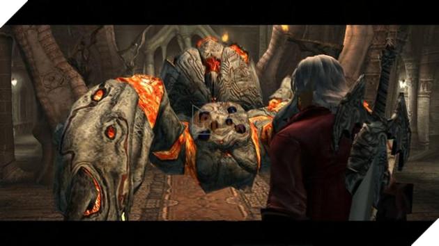 Trước khi chết,Phantombất giác nhìn thấy hình ảnh củaSpardatrongDante