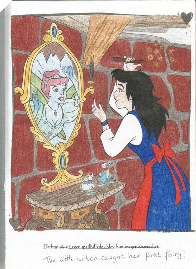 Khi người lớn sử dụng trí tưởng tượng nguy hiểm để tô màu nhân vật trong sách