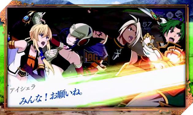 Tin vui cho các game thủ hâm mộ anime: Record of Grancrest War sẽ được chuyển thể thành game mobile