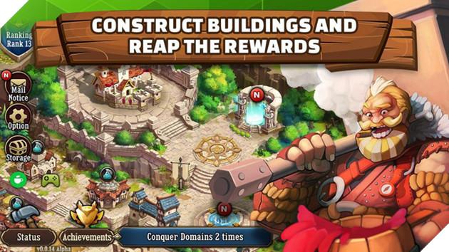 First Hero - Game mobile chiến thuật xây thành mới nhất của Webzen vừa được mở cửa