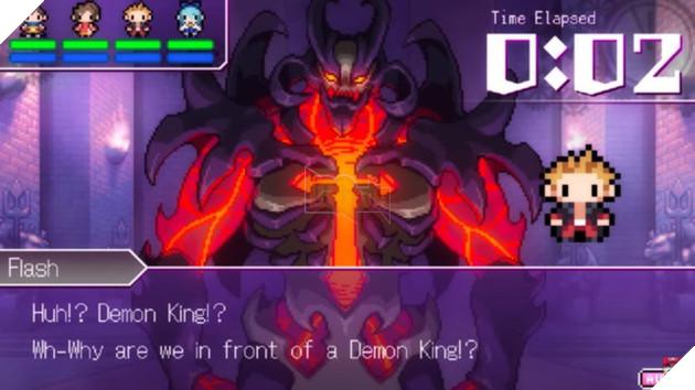 Flash luôn luôn là chẳng hiểu tại sao mình lại đang đứng trước mặt Demon King