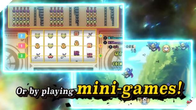 Người chơi có thể kiếm điểm hồi ức bằng các mini game