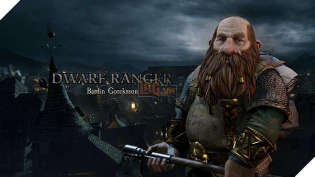 Dwarf Ranger - Bardin Goreksson
