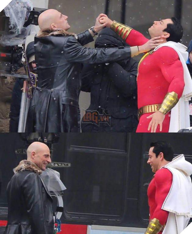 Thêm những hình ảnh mới về nhân vật siêu anh hùng Shazam được ra mắt vào năm sau của nhà DC