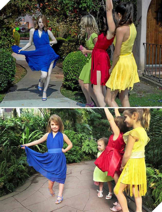 16 màn cosplay thần sầu các cảnh kinh điển trong giải Oscar của bé gái diễn sâu - Ảnh 9.
