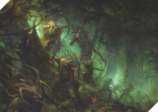 Một cuộc chiến bảo vệAthel LorencủaWood Elves