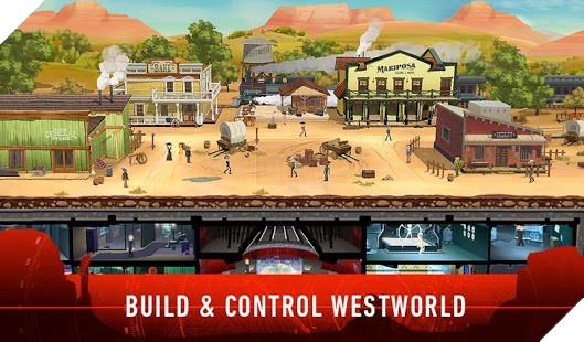 Westworld - Series phim dài tập cực hot của Mỹ được chuyển thể thành game mobile