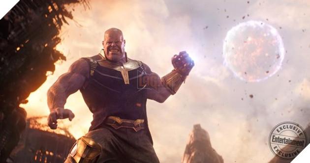 Thanos khoe sức mạnh hủy diệt trong Avengers: Infinity War.