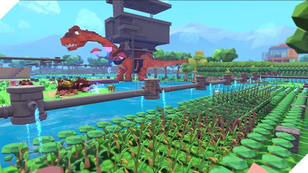 """Game săn khủng long """"đồ chơi"""" PixArk ấn định mở cửa ngày 27/3 tới"""