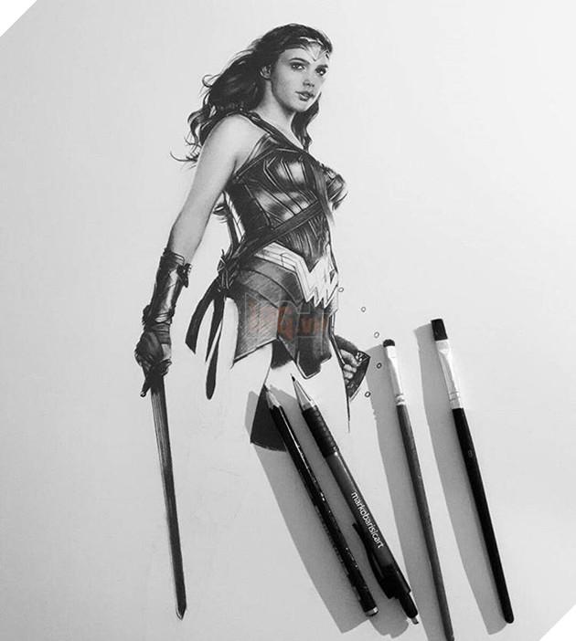 Ngạc nhiên khi những siêu anh hùng hiện lên trong tranh chì 3D đẹp đến ngỡ ngàng
