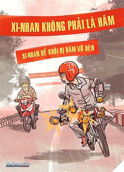 Văn hóa tham gia giao thông người Việt dưới góc nhìn hài hước đáng suy ngẫm