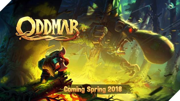 Oddmar - Game đi cảnh đồ họa hoạt hình tuyệt đẹp sẽ được ra mắt trong mùa xuân 2018