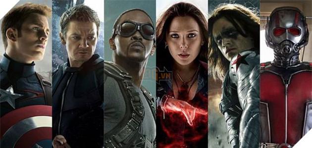 Trong nhóm của Captain America, chỉ còn Hawkeye và Ant-Man chưa góp mặt