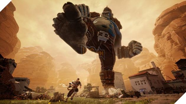 Trò chơi sẽ đưa bạn vào cuộc chiến giữa con người và những sinh vật khổng lồ mang tên Ravenii.