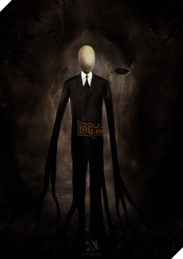 Một trong những tạo hình quen thuộc của Slender Man