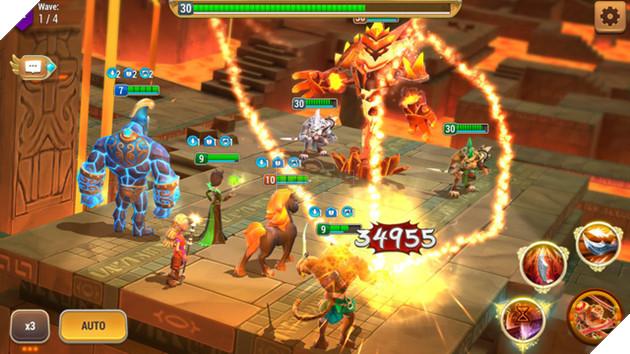 Might and Magic: Elemental Guardians - Hậu bản của dòng game huyền thoại bất ngờ mở đăng ký