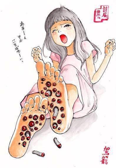 Kinh dị 18+: Loạt tranh cực hãi hùng ám ảnh của họa sĩ Shintaro Kago