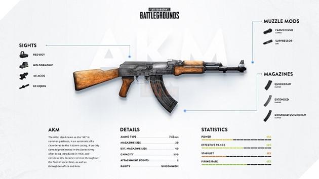 PUBG Tìm hiểu về AKM Con ngựa hoang khó thuần phục nhất dòng súng AR 14