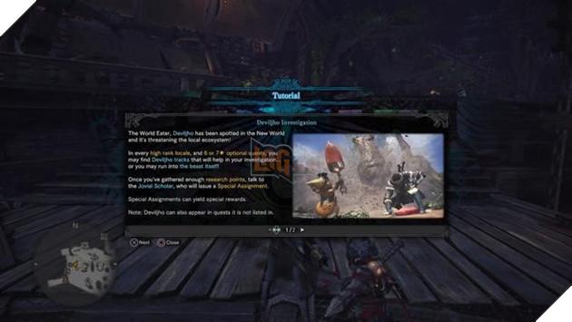 Thực hiện nhiệm vụ điều tra Deviljho - Sau khi hoàn thành cũng là lúc bạn phải chiến với nó