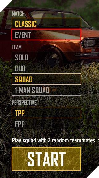 PUBG thêm chế độ Event cho phép game thủ lập team 8 người tương tự Fortnite 2