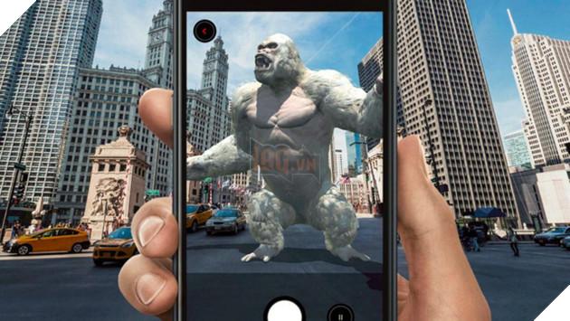 Rampage: AR Unleashed - Game thực tế ảo thú vị cho thả quái vật Rampage ra tàn phá thế giới thực