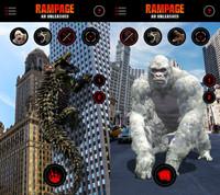 Thả quái vật tàn phá thành phố với tựa game Rampage: AR