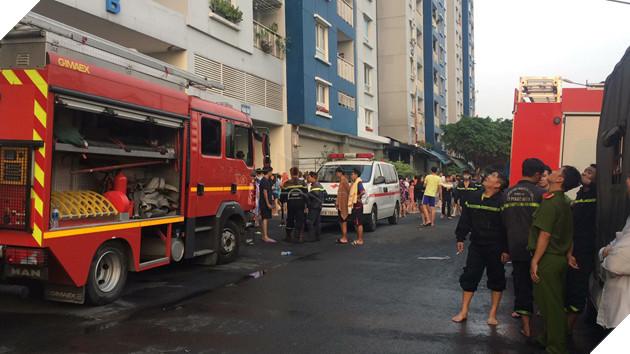 TP.HCM: Cháy lớn ở chung cư cao cấp, ít nhất 13 người chết, 14 người bị thương