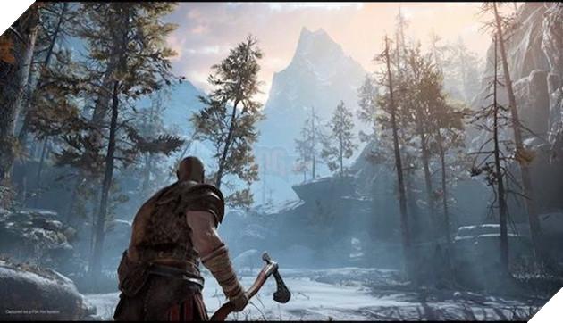 Không thể phủ nhận hình ảnh vùng đất Bắc Âu tuyệt đẹp trong God of War