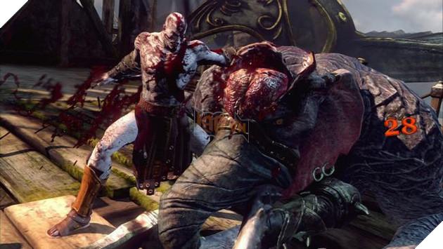 Kratos trong quá khứ - một cỗ máy giết chóc đúng nghĩa