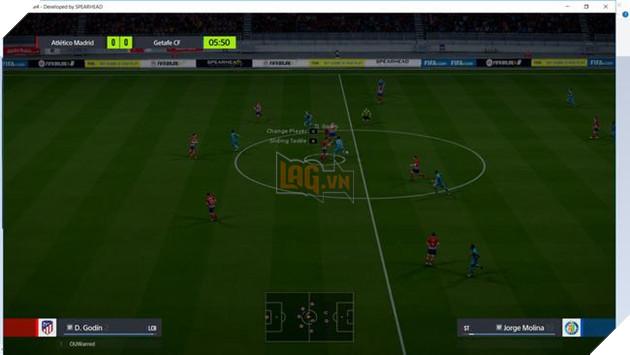 Hình ảnh in-game sau khi vào trận. Các bạn cần chỉnh độ sáng lại cho rõ hơn