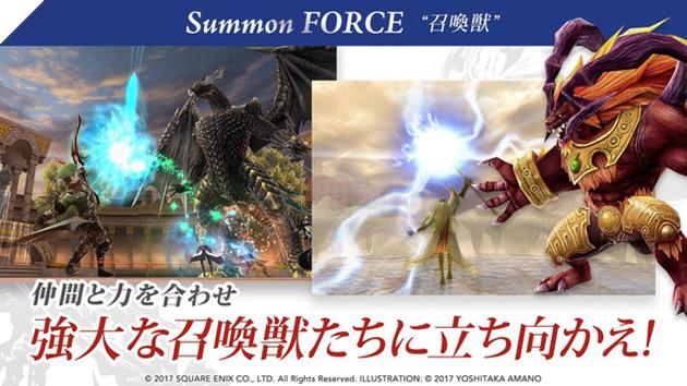 Final Fantasy Explorers Force - MMORPG 3D đậm chất Nhật Bản đã chính thức ra mắt