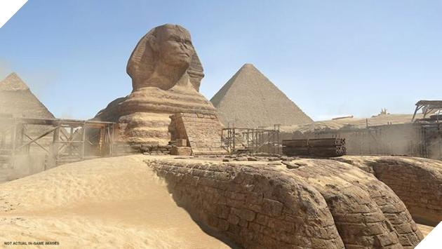 Bản đồ Ai Cập với Kim tự tháp Giza nổi tiếng thế giới