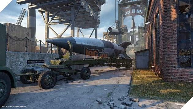 Và bản đồV2dựa trên một cơ sở sản xuất tên lửa bí mật của Đức