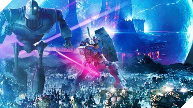The Iron Giant, Gundam, TMNT, ...cùng vô số nhân vật khác sẽ góp mặt trong phim