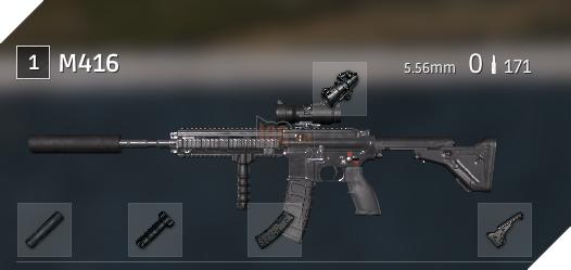 PUBG Tìm hiểu về M416 - Khẩu súng trường tấn công được yêu thích nhất game 5