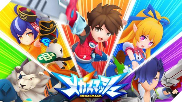 Mega Smash - Game hành động nhập vai đồ họa chibi cực dễ thương tới từ Nhật Bản