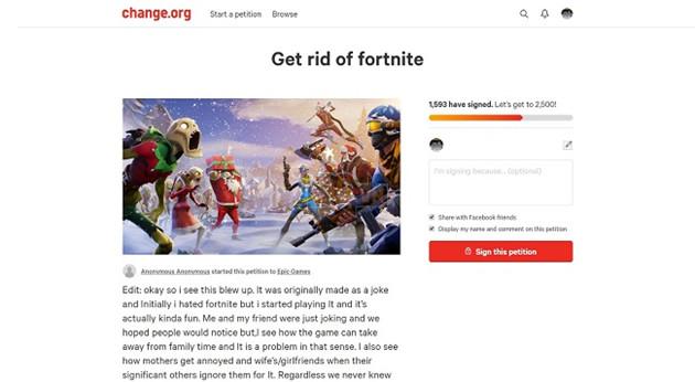 Lá đơn kiến nghị được thực hiện trên trang Change.org, đã thu hút rất đông người quan tâm