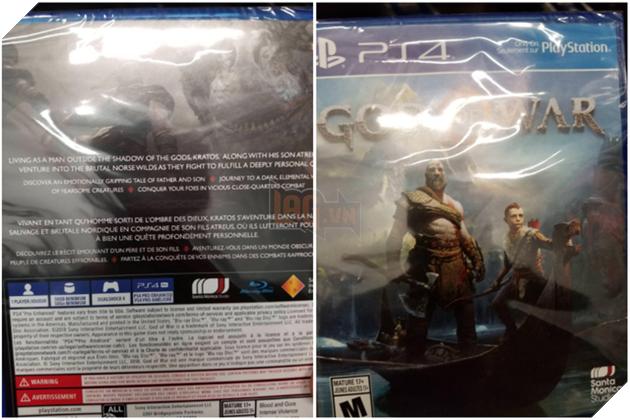 Dù còn cách ngày ra mắt 2 tuần nhưng hình ảnh về đĩa game God of War đã bị chia sẻ rộng rãi trên mạng